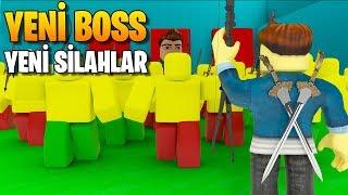 ⚔️ Yeni Boss'u Öldürüyoruz! ⚔️ | Army Control Simulator | Roblox Türkçe