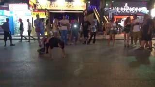 Bangla Road1 Patong Phuket best breakdance B-boying ever