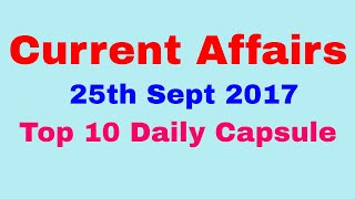 CA #01 | 25th Sept 2017 | Basmati Rice Exports, German Elections, Korea Plus, etc.