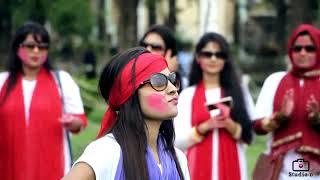 Flashmob of Taposhi Rabeya Hall Rajshahi University (2012-13)
