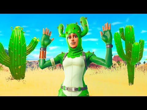 Pretending to be a Cactus In Fortnite