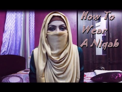 Simple Niqab Tutorial | Zerin's Hijab(Bangla)
