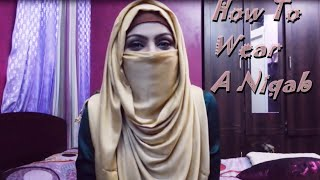 Simple Niqab Tutorial | Zerin's Hijab(Bangla)