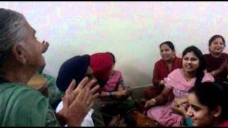 Punjabi Wedding ladies sangeet 5