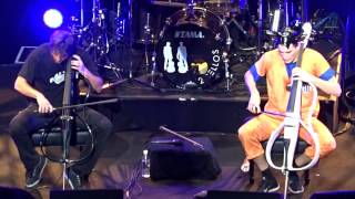 2CELLOS - Dragon Ball - The Trooper - Tokyo 5 July 2015