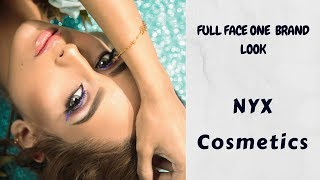 Full Face One  Brand Look | NYX COSMETICS ميكب باستخدام ماركة وحدة | نيكس