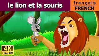 Le Lion et la Souris - fables d'esope - conte pour enfants - en français - 4k ultra hd vidéo