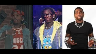 Young Thug says he is gonna SLAP TF outta Sauce Walka and YFN Lucci. They Respond!