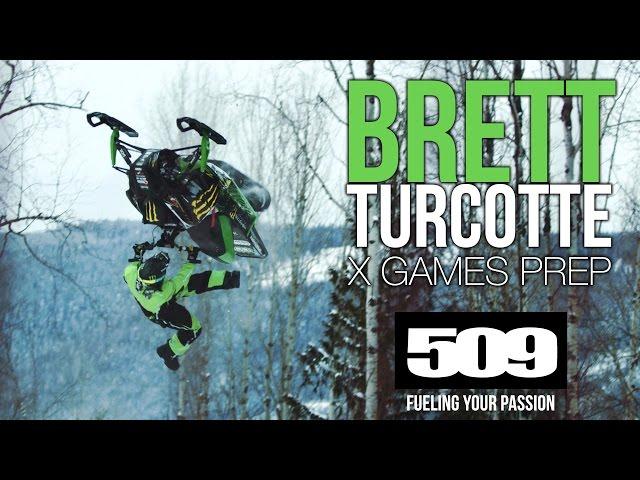 Brett Turcotte - 2017 X Games Training