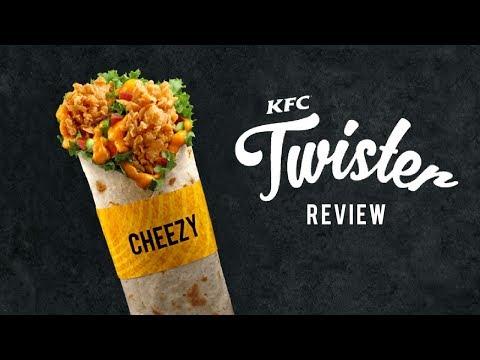 KFC CHEEZY TWISTER REVIEW