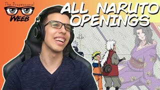 Weeb Reacts To All Naruto Openings 1-9