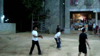 Madhavan Playing Volley 1