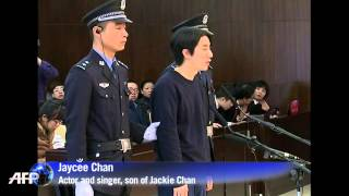 Jackie Chan's son gets 6 months for drugs offence