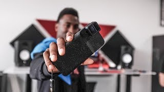 Showing MKBHD The Anamorphic Lens | Gear Vlog