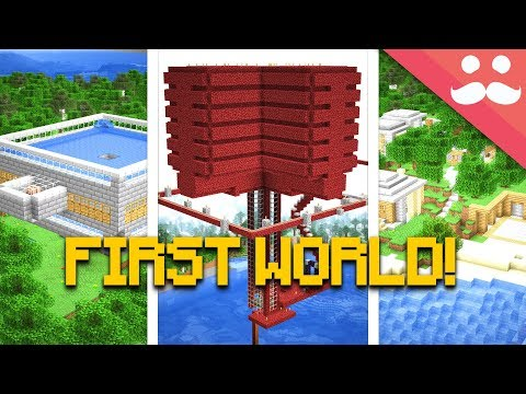 I Found my FIRST MINECRAFT LET S PLAY WORLD