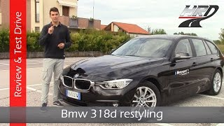 2015 Bmw 318d Touring facelift (150 hp) - Test drive/Prova su strada & Review/Recensione