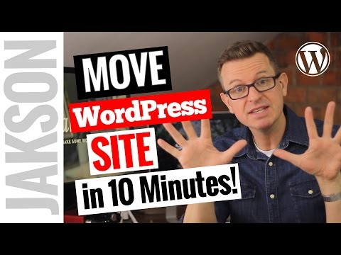 How to TransferMigrate an Entire WordPress Site to New Host in 10 minutes - Duplicator Plugin