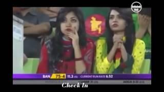 Bangladesh VS India funny cricket || আউট না হলেও আউট দিয়ে দেয়।