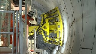 Crossrail Railway Systems: Drilling rig begins operation in the Crossrail tunnels
