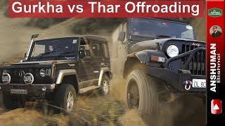Gurkha vs Thar vs Gypsy: 4 off-road obstacles attempted back to back.