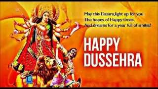 Latest Happy Dasara/Dussehra 2016 whatsapp video greeting card, SMS, wishes, Quotes, Wallpapers