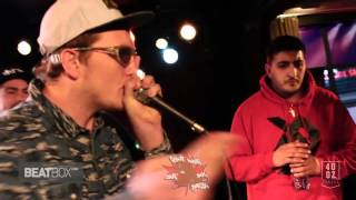 BBK (CAN) VS NaPoM (USA) North American Beatbox Champs Battle