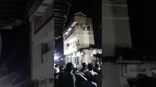 BUILDING COLLAPSES IN GUJARAT DUE TO HEAVY RAIN