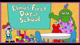 Elmo's First Day Of School -  Sesame Street - YouTube