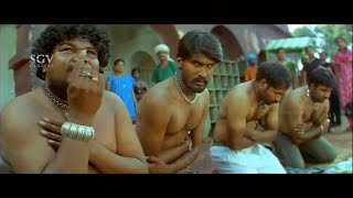 Rowdies became naked after seeing Sudeep | Veera Madakari | Kannada Best Scenes