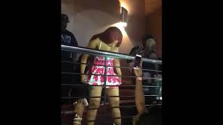 Cardi b gets her ass slapped by fan