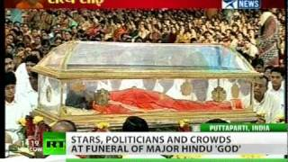 Hindu 'God' gets royal funeral in India