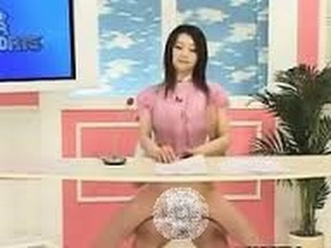 TV news reporter sexy and funny Bloopers