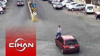 Mobese kameralarına yansıyan kazalar insan hatalarını gözler önüne serdi