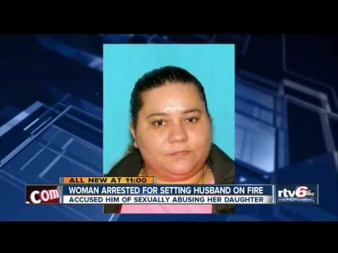 Woman Sets Her Husband On Fire For Rape Her 7 Years Daughter