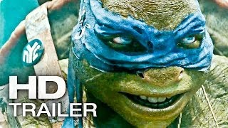 TEENAGE MUTANT NINJA TURTLES Trailer 2 Deutsch German | 2014 TMNT [HD]
