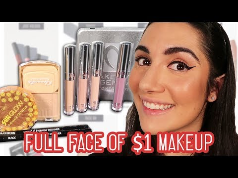 Wearing Online Dollar Store Makeup For A Week