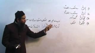Arabic Course by Sheikh Aamir Sohail Lecture 22 (Urdu)