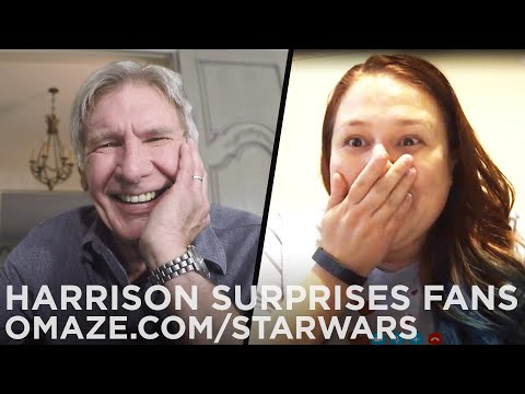 Xxx Mp4 Harrison Ford Surprises Star Wars Fans With Big News… For Charity 3gp Sex