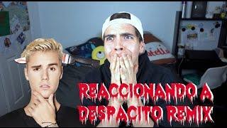 Reaccionando a DESPACITO REMIX ft. Justin Bieber ( Reaction )   Johann Vera