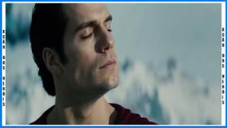 O Primeiro Voo de Superman l O Homem de Aço l Dublado (HD)