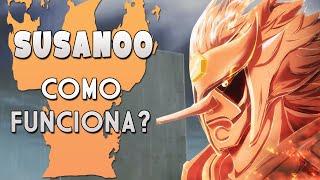 COMO FUNCIONA O SUSANOO EM NARUTO | Player Solo