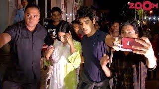 Ishaan Khattar GETS POSSESSIVE About Jhanvi Kapoor