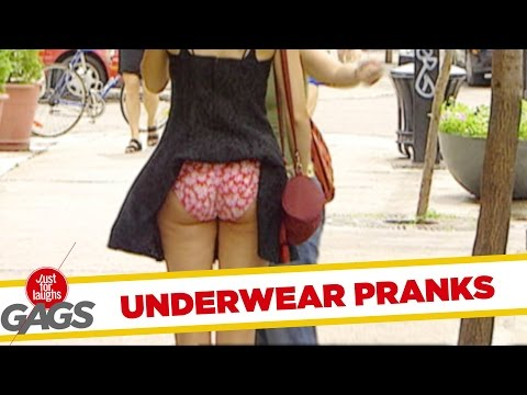 Pranking in Underwear Best of Just For Laughs Gags