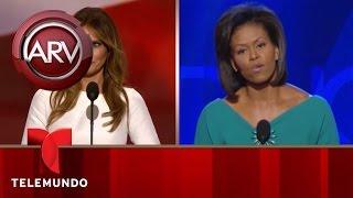 ¿Descaro o coincidencia? Melania Trump dice el mismo discurso que Michelle Obama en 2008