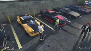 GTA 5 PS4 Livestream Muscle Car Meet/Drag Racing and More!