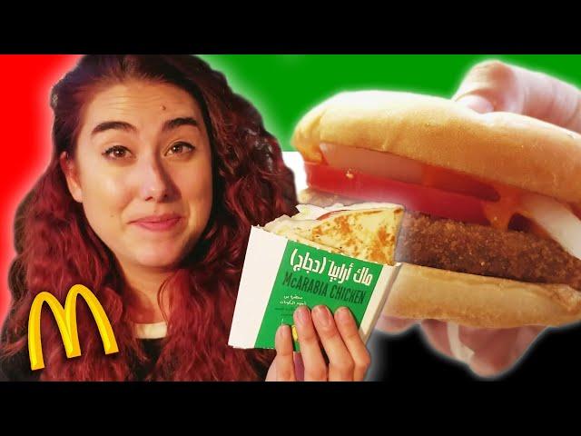Americans Try Dubai McDonald's