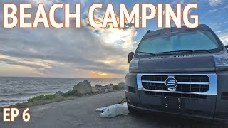 Tiny Beach House on Wheels | Camper Van Life