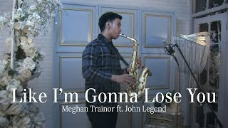 Like i'm gonna lose you (Meghan Trainor ft John Legend) alto saxophone cover by Desmond Amos