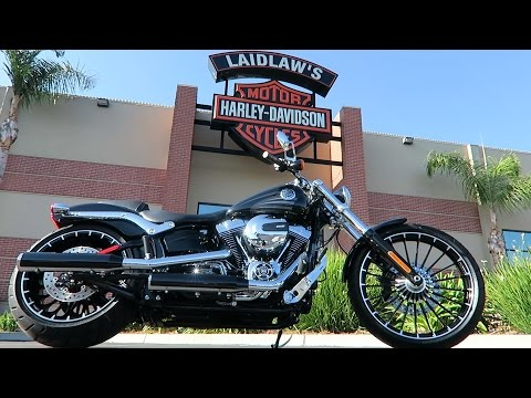 Download Lagu 2017 Harley-Davidson Softail Breakout (FXSB)│Review and Test Ride MP3