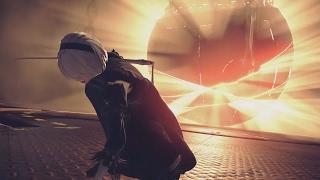 NieR Automata NEW Trailer Elegant Destruction Weapon Gameplay